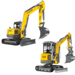 Tracked Zero Tail Excavators