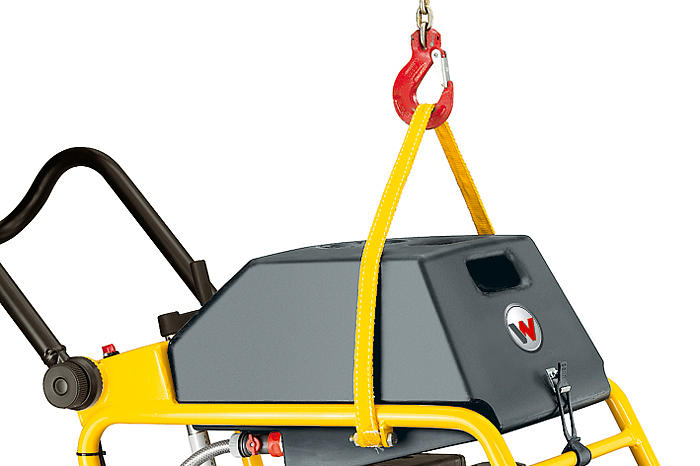 floor saw BFS central lifting point