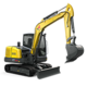 Tracked Conventional Tail Excavators - ET66