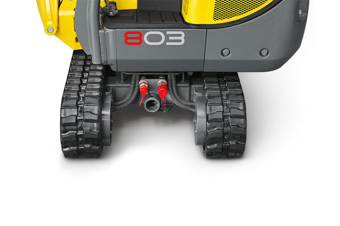 Wacker Neuson 803 dual power connection